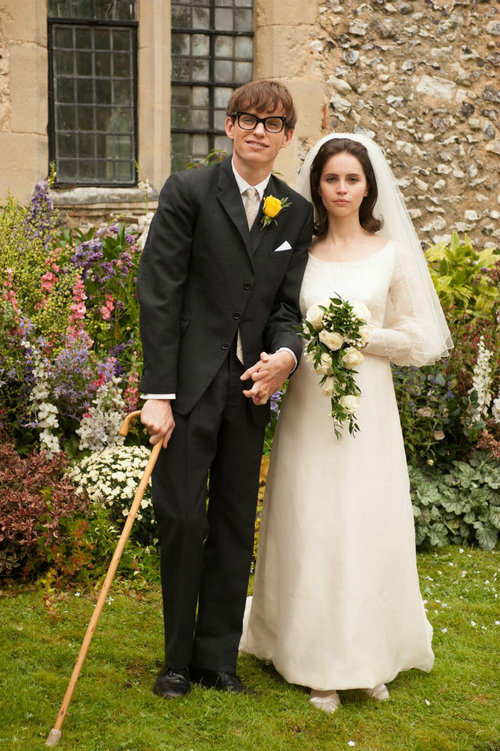 wedding picture from Theory of Everything