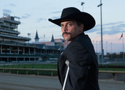 Chip Woolley, played by Skeet Ulrich, stands on the track at Churchill Downs. agomez@abqjournal.com Tue Mar 11 17:49:00 -0600 2014 1394581730 FILENAME: 168455.jpg